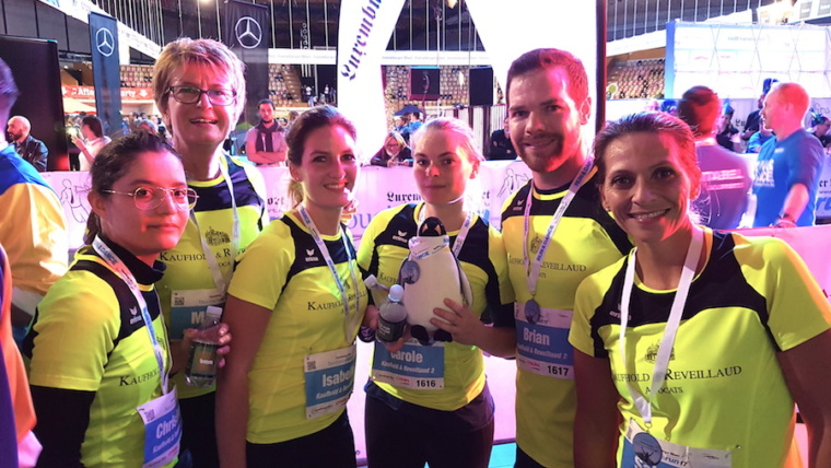 Team Spirit at the Luxemburger Wort BusinessRun