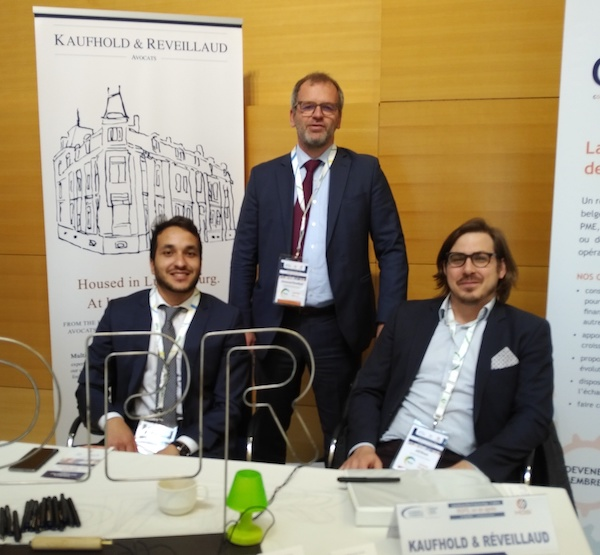 Booth at the Luxembourg Data Protection Days